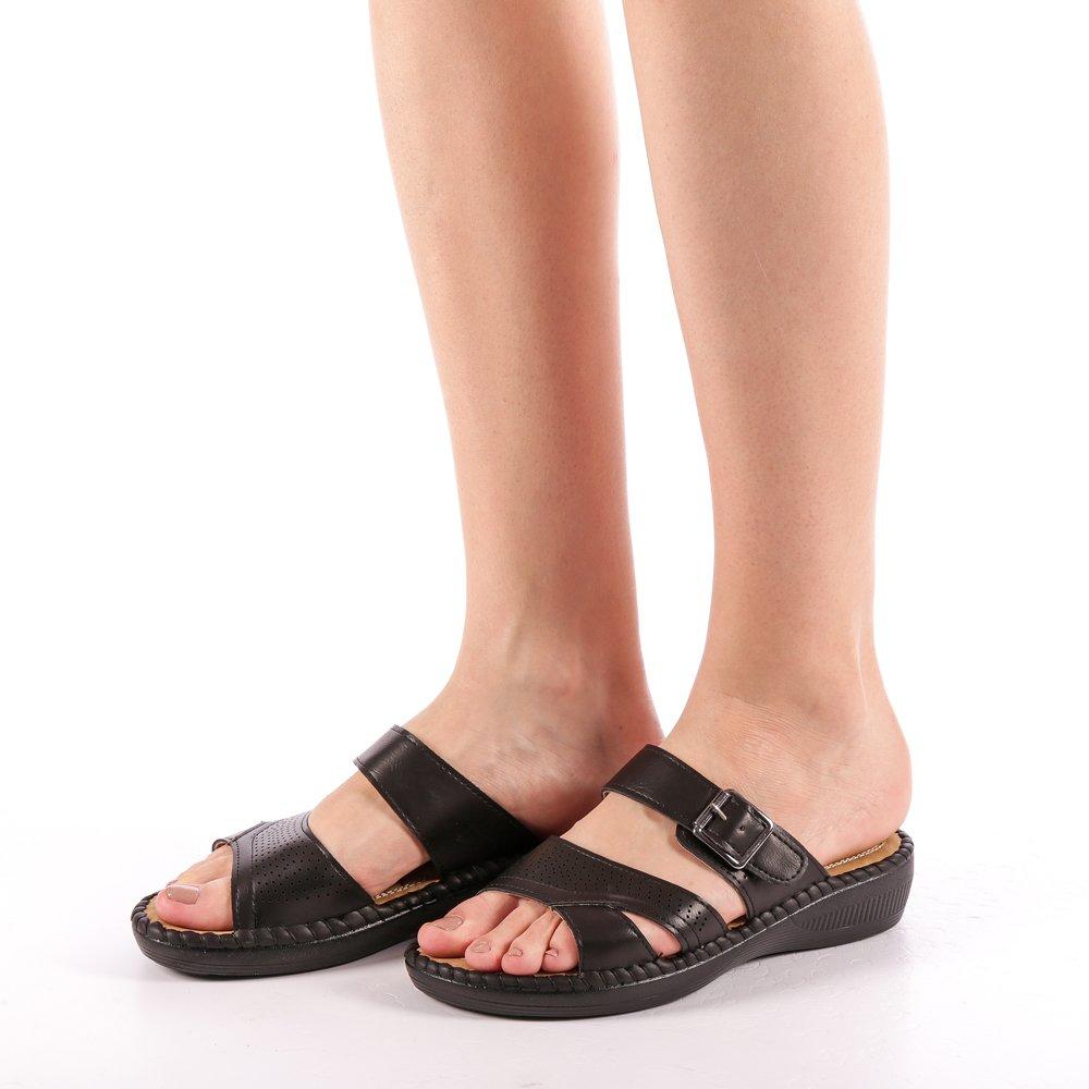 Papuci dama Giovana negri
