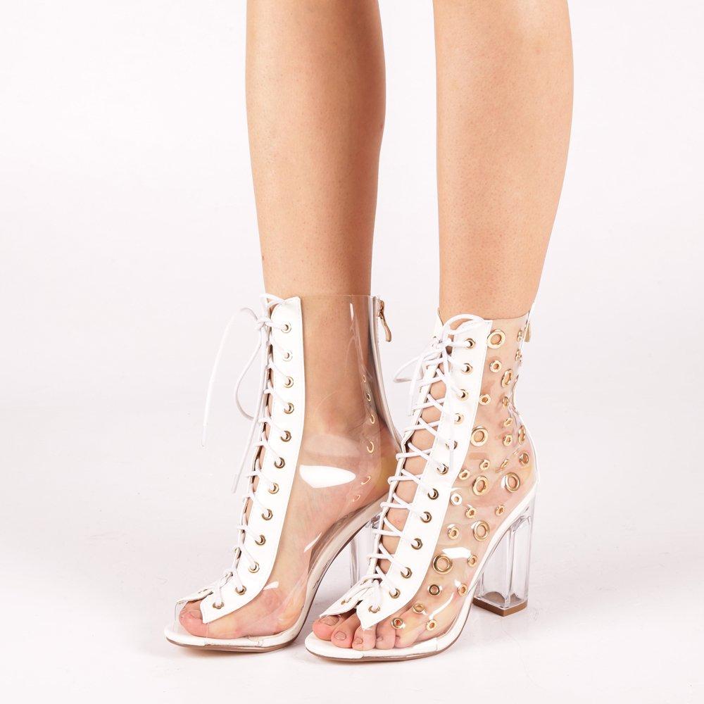 Sandale dama Jovanka albe