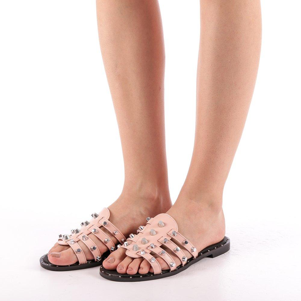 Papuci dama Iolanda roz