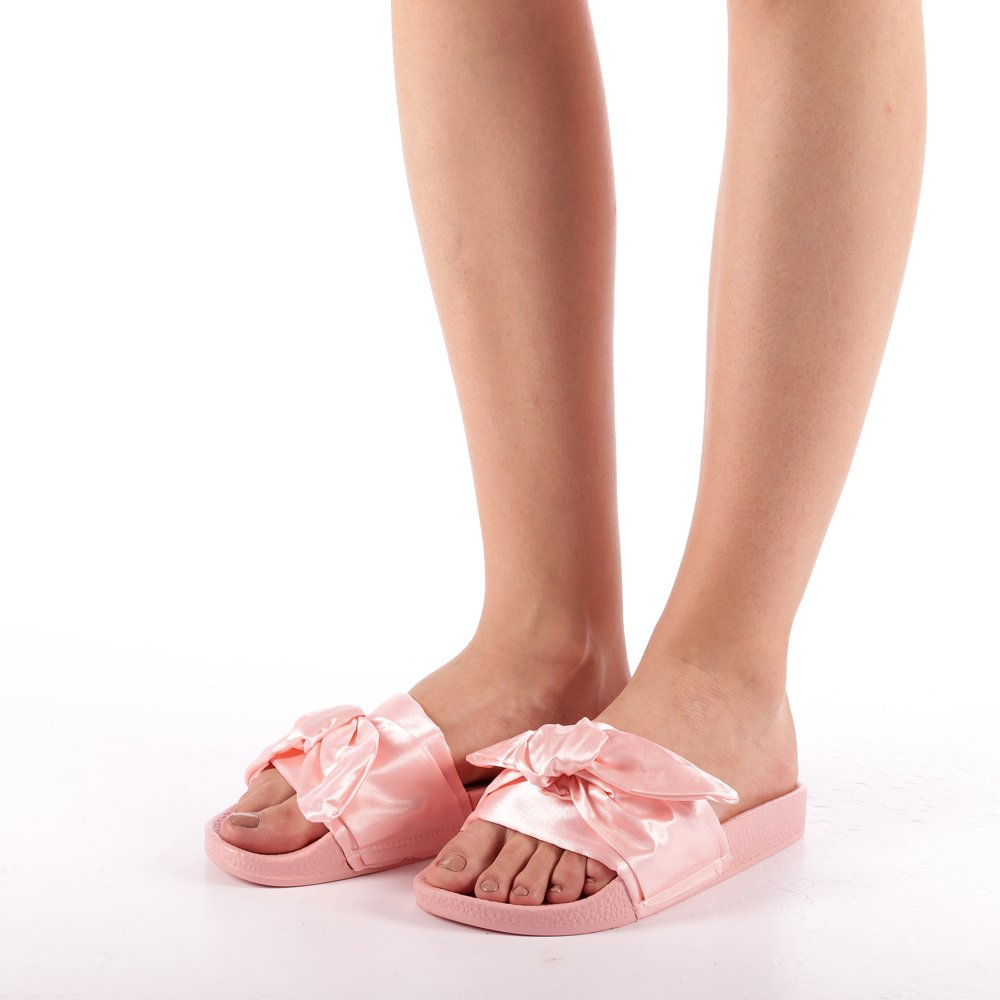 Papuci dama Lucia roz