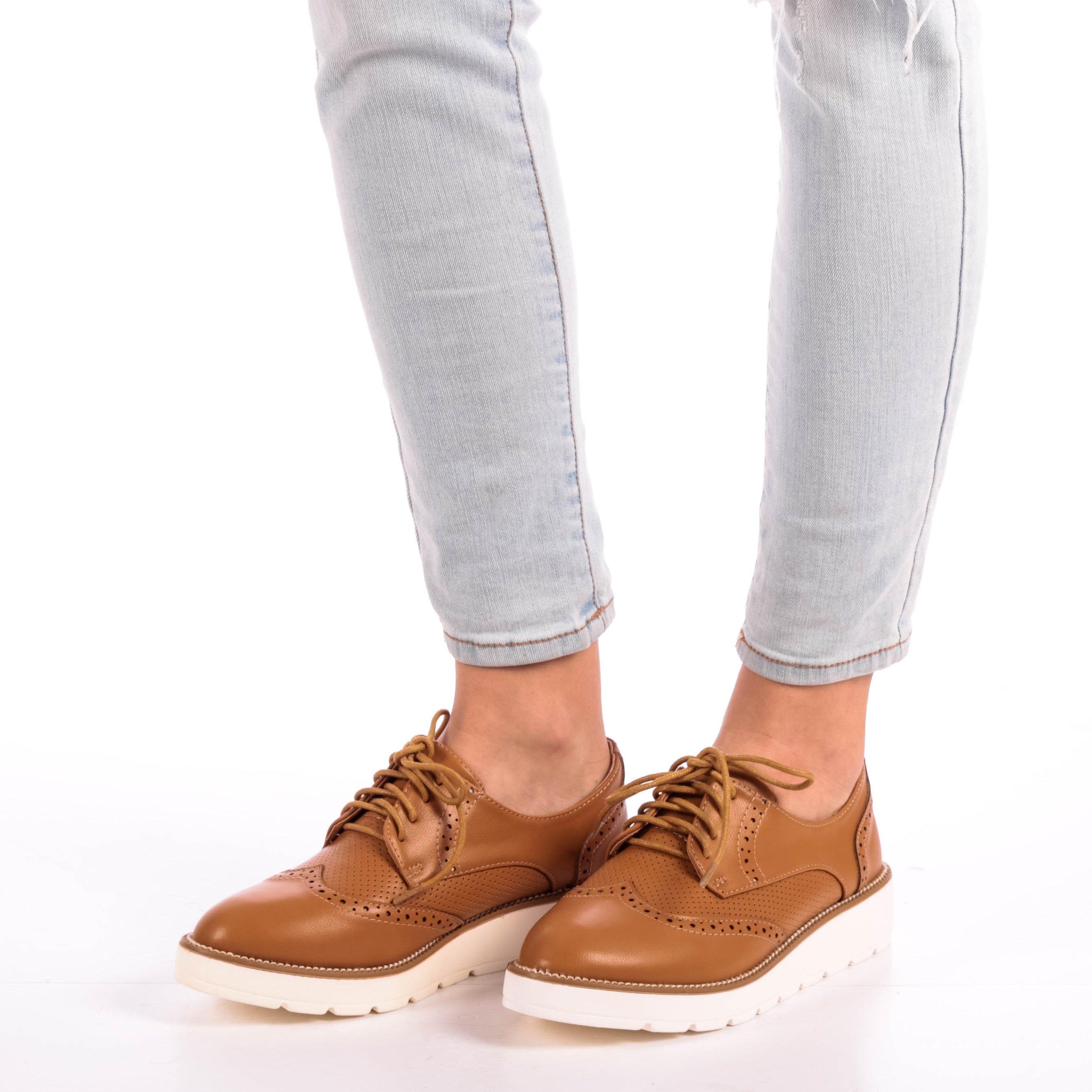 Pantofi dama Alyce camel