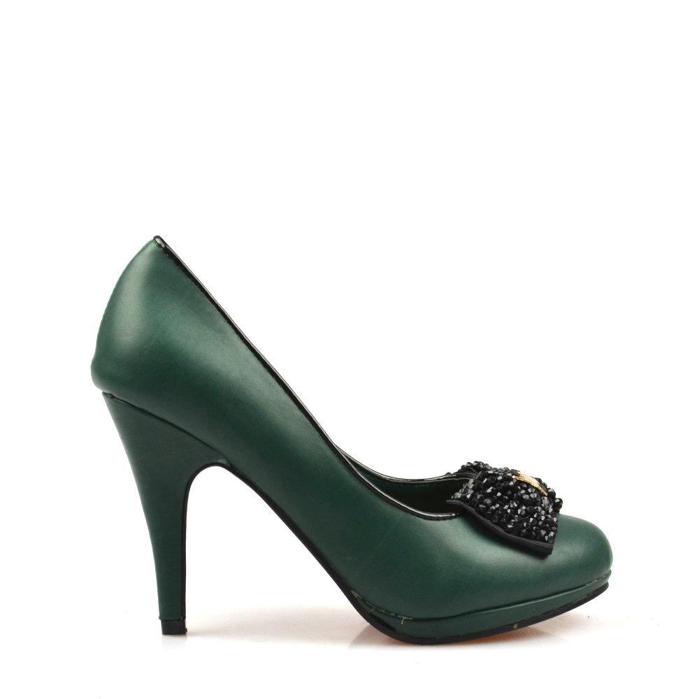Pantofi Dama Verzi Natalia