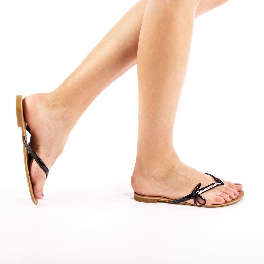 Papuci dama Grace negri