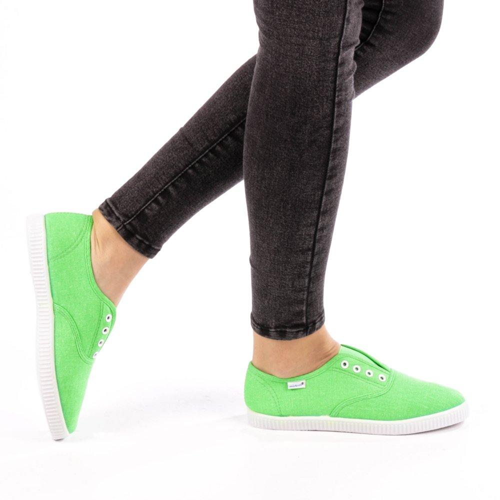 Tenisi dama Esme verde neon
