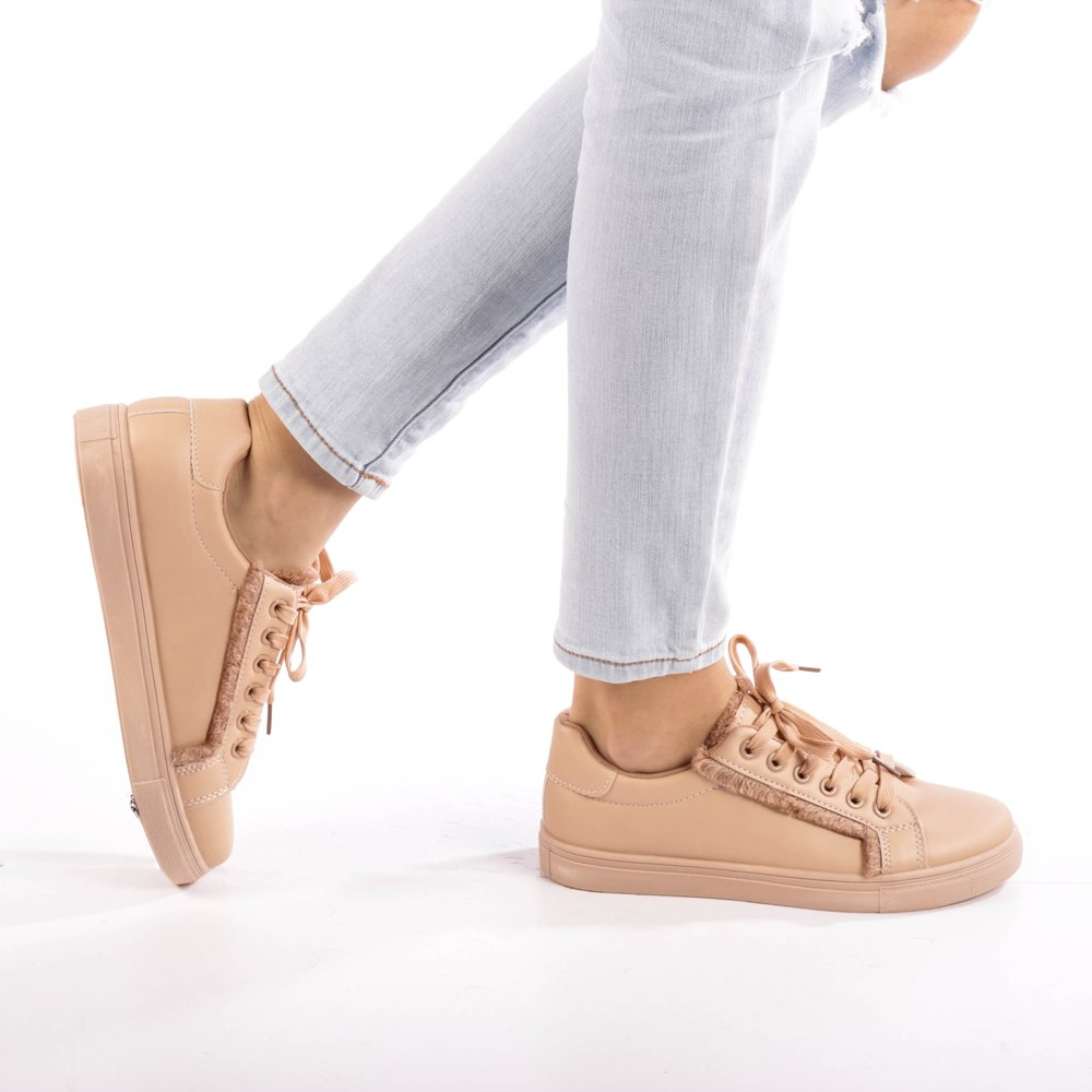 Pantofi sport dama Pepa bej