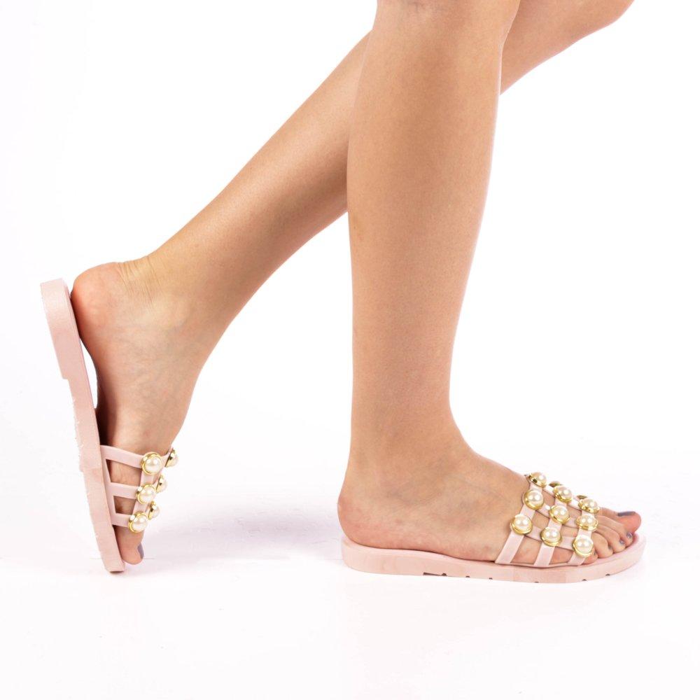 Papuci dama Aida roz