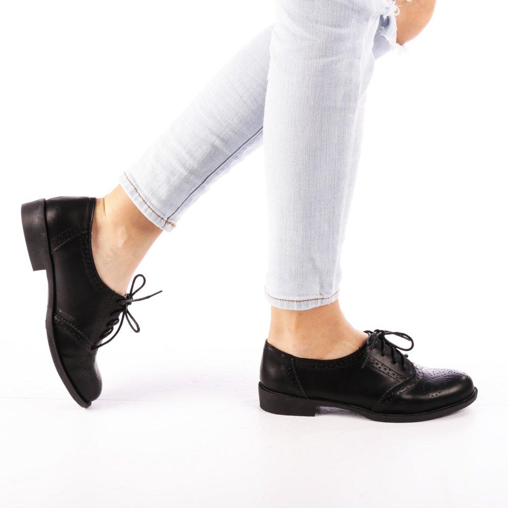 Pantofi dama Brinda negri