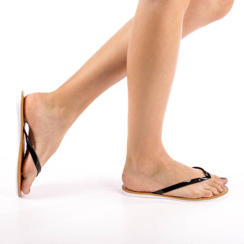 Papuci dama Charlotte negri