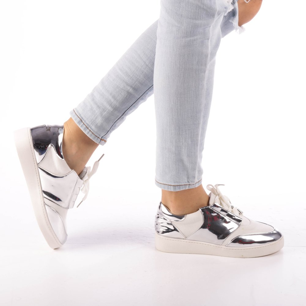 Pantofi sport dama Abigail albi