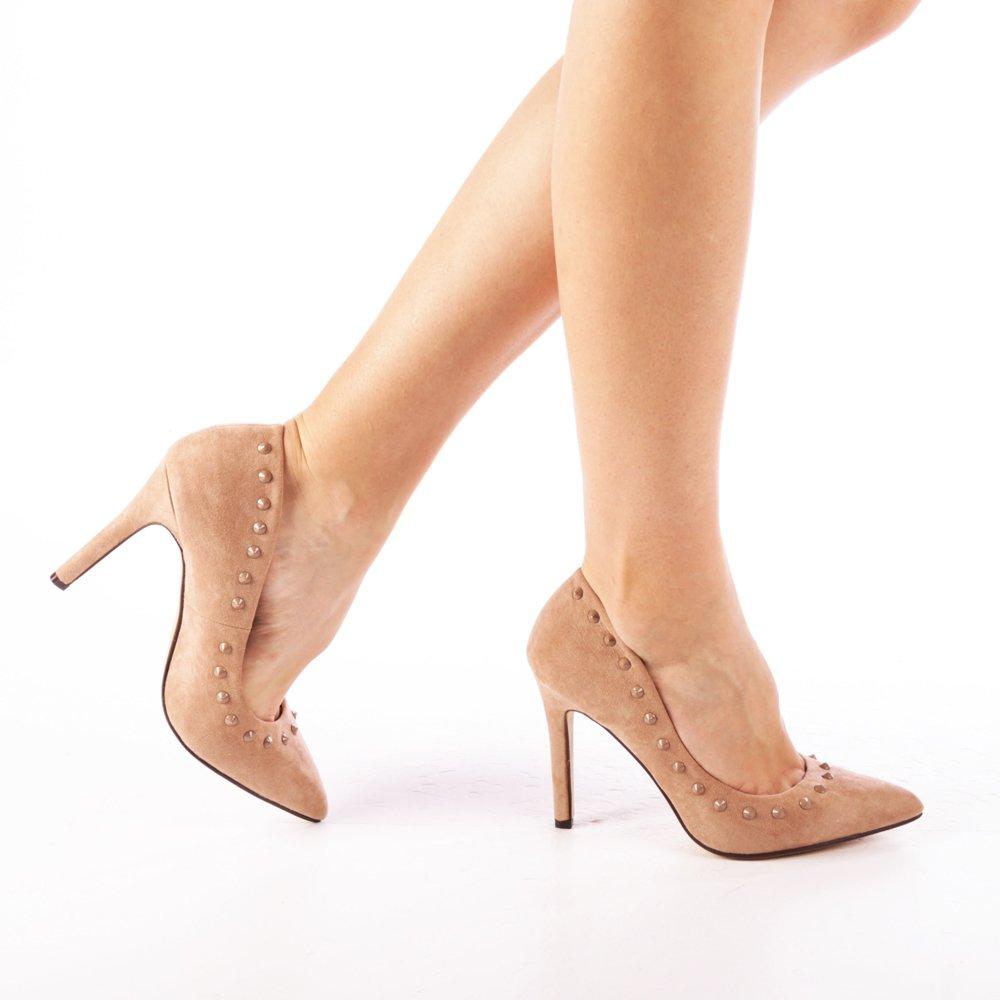 Pantofi Dama Angeni Bej