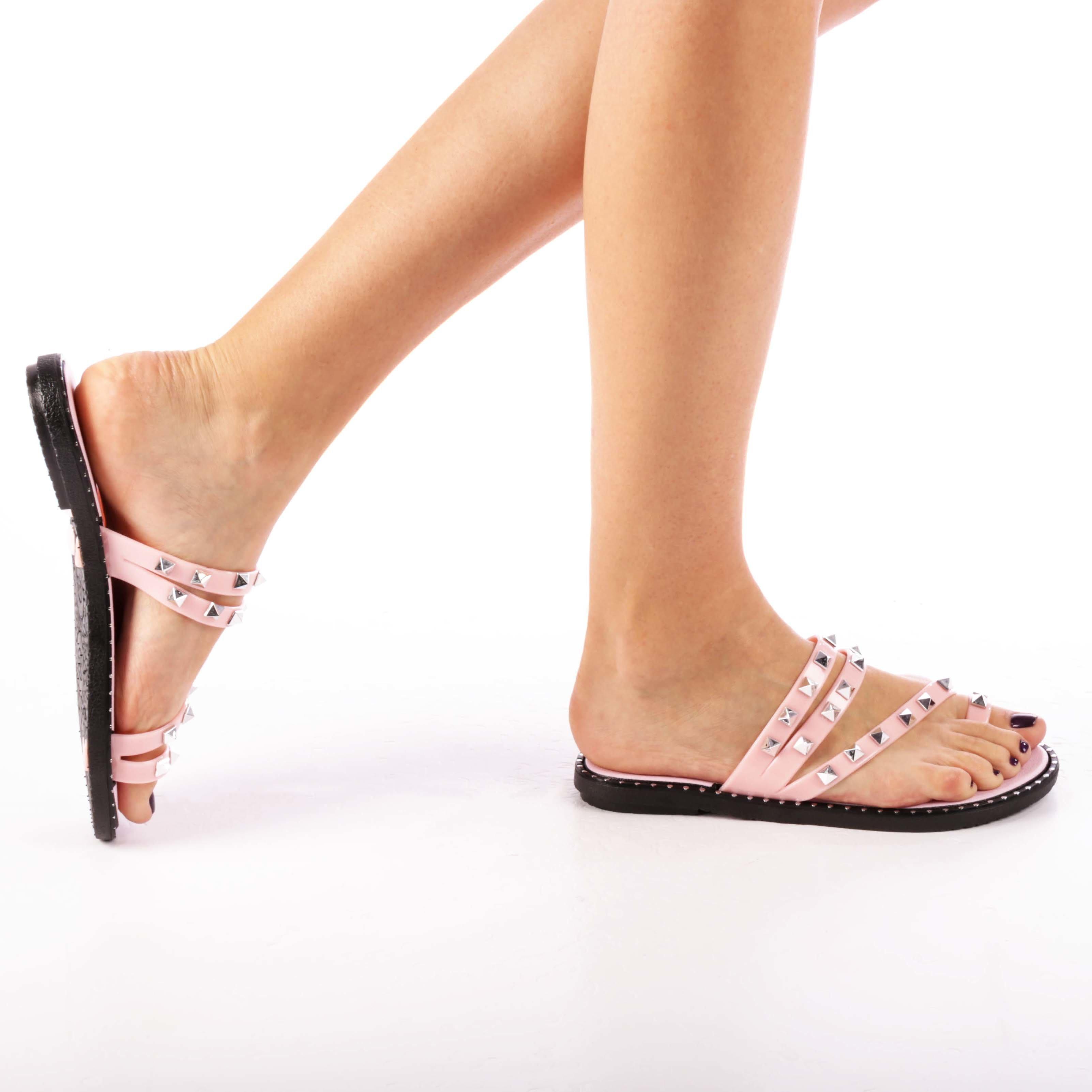 Papuci dama Jemma roz