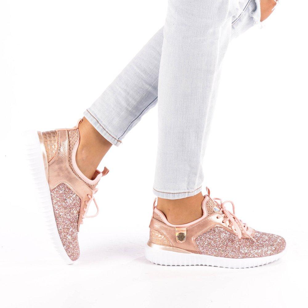 Pantofi sport dama Daciana roz