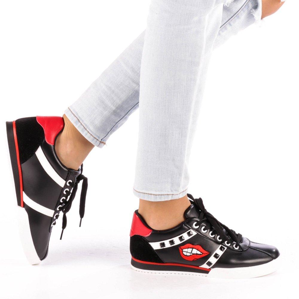 Pantofi sport dama Lizzie negri