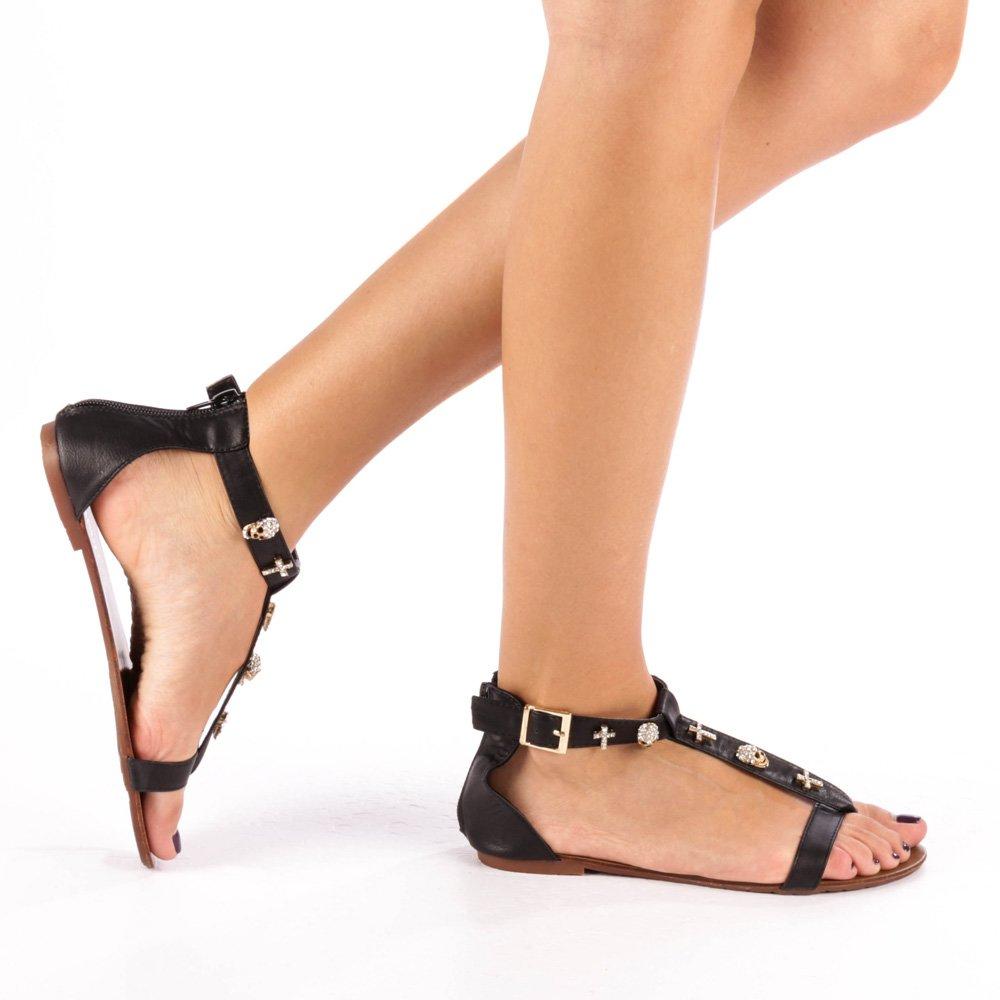 Sandale dama Clementina negre