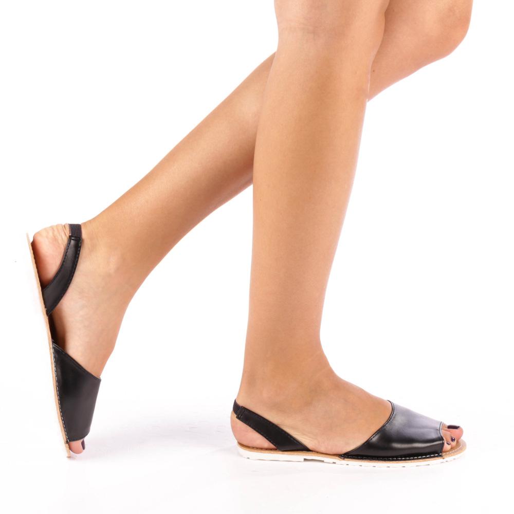 Sandale dama Celia negre