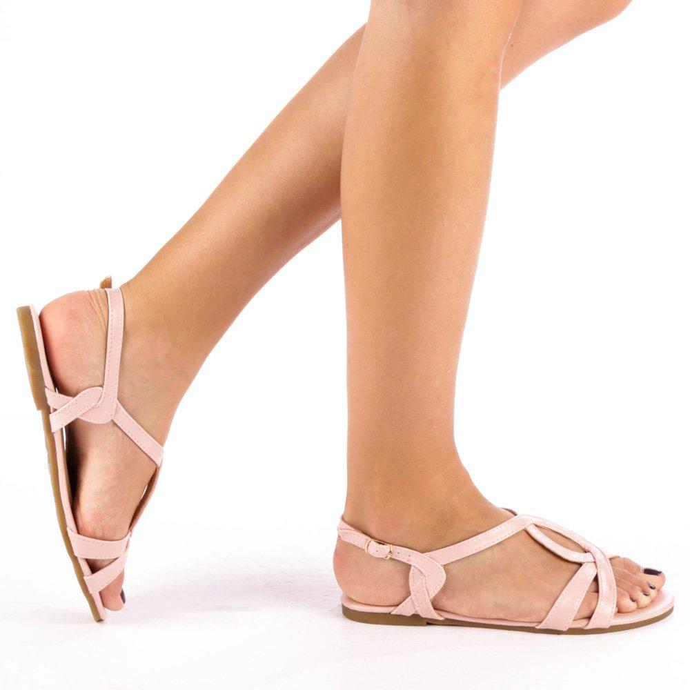 Sandale dama Luise roz