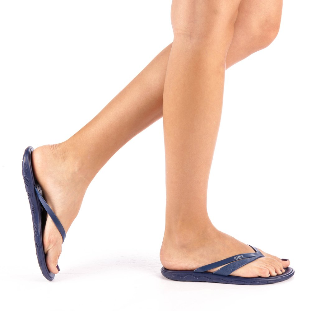 Papuci dama Hermia navy