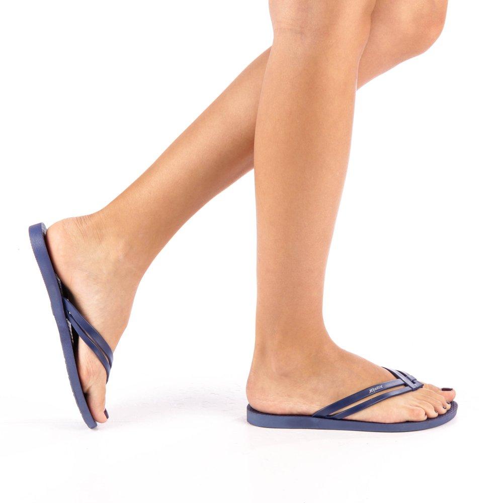 Papuci dama Hanna navy