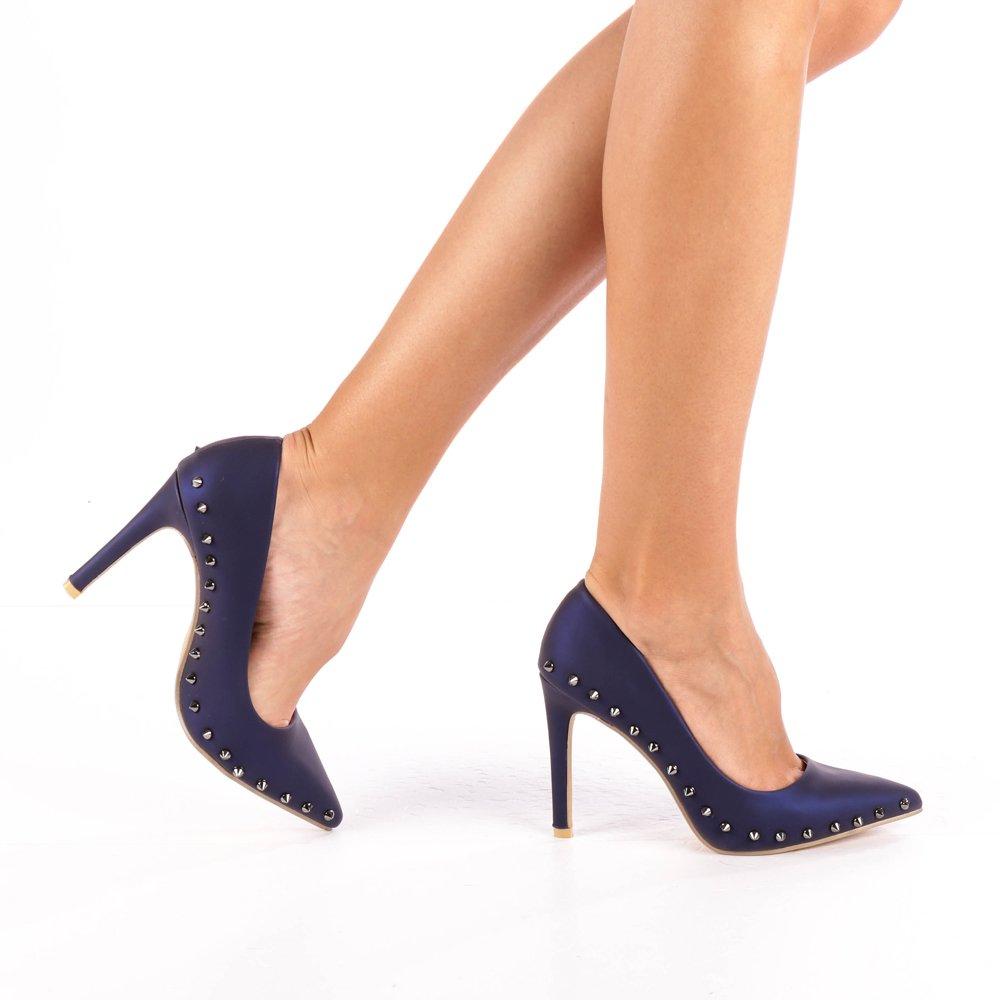 Pantofi Dama Dafina Albastri