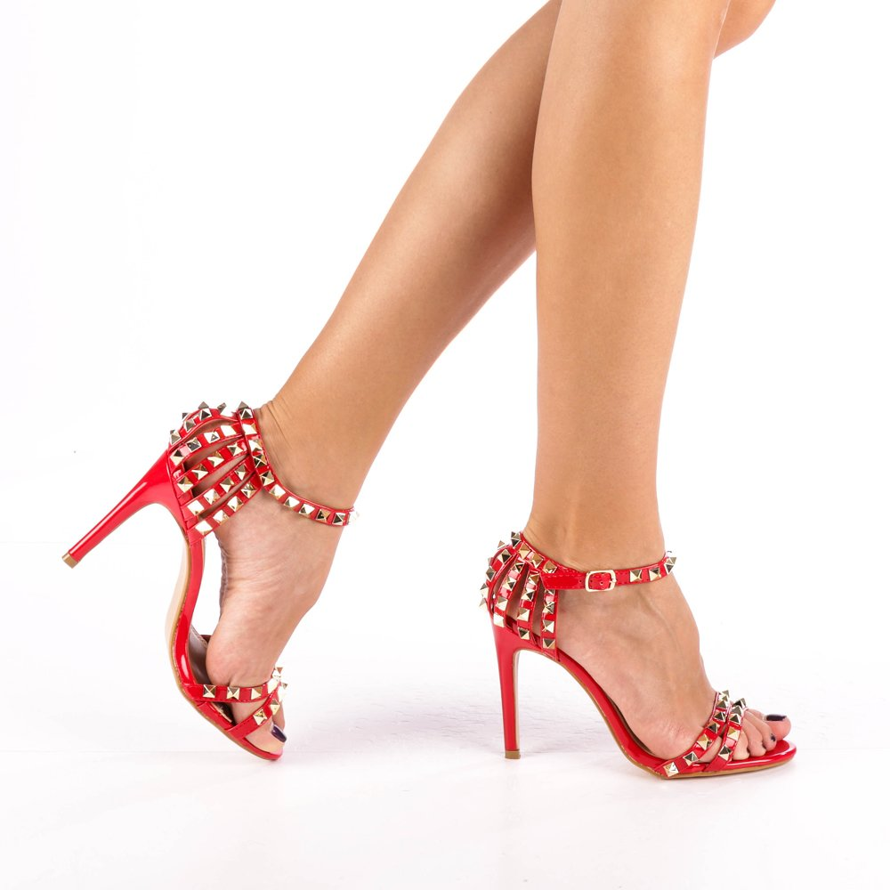 Sandale dama Amadeus rosii