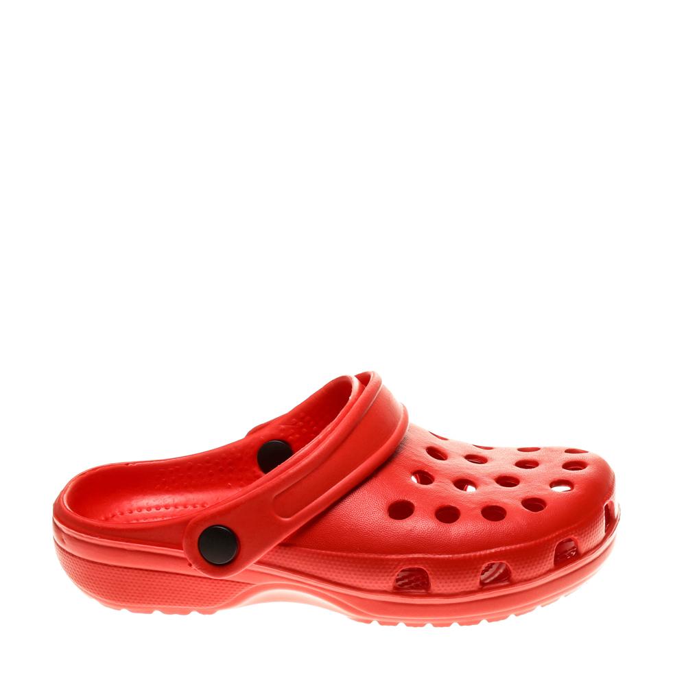 Papuci copii Demos rosii