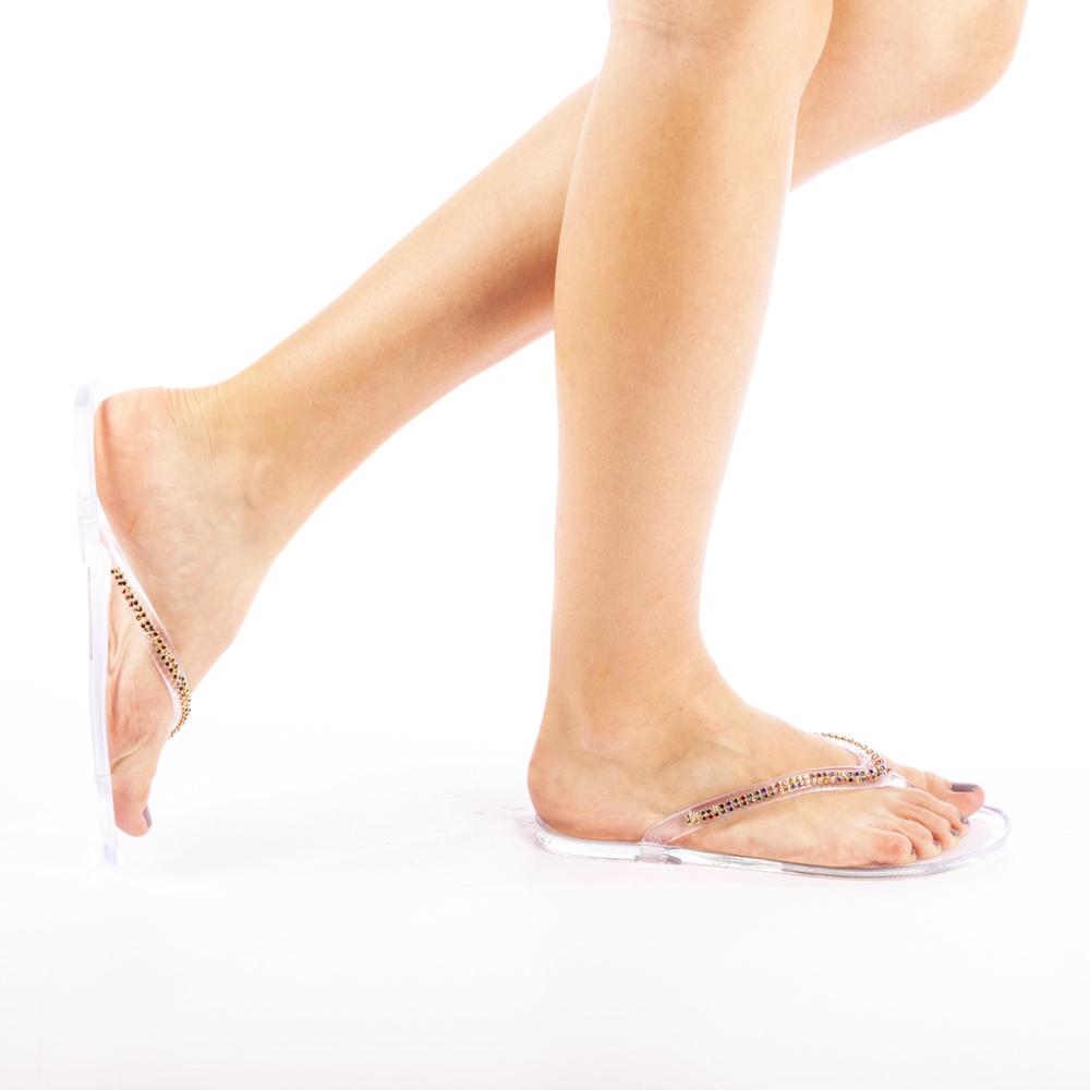 Papuci dama Gemina transparent