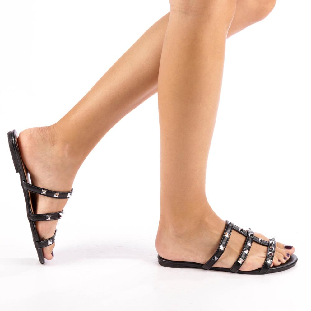 Papuci dama Celya negre