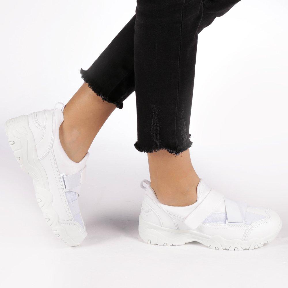 Pantofi sport dama Adalgiza albi
