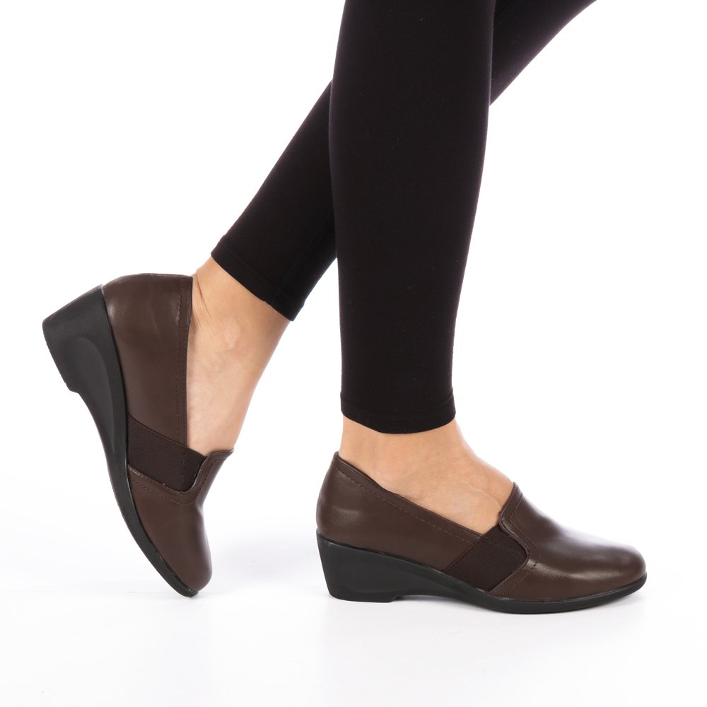 Pantofi dama Iris maro