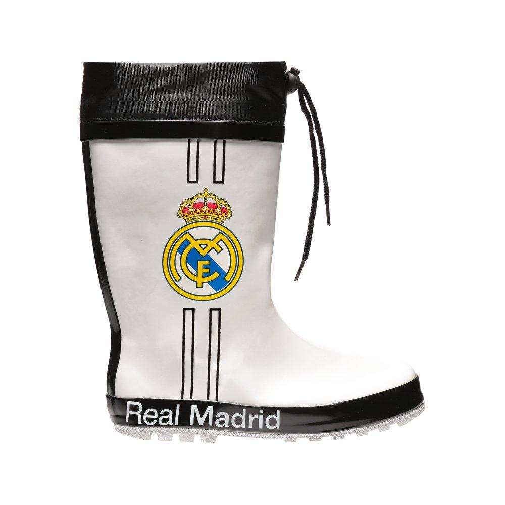 Cizme copii Real Madrid alb cu negru
