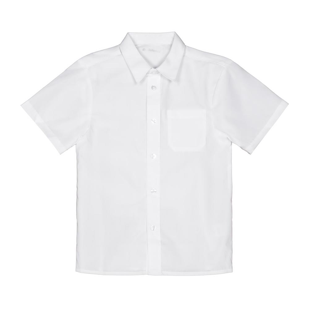 Set 3 camasi fete F&F cu maneca scurta albe