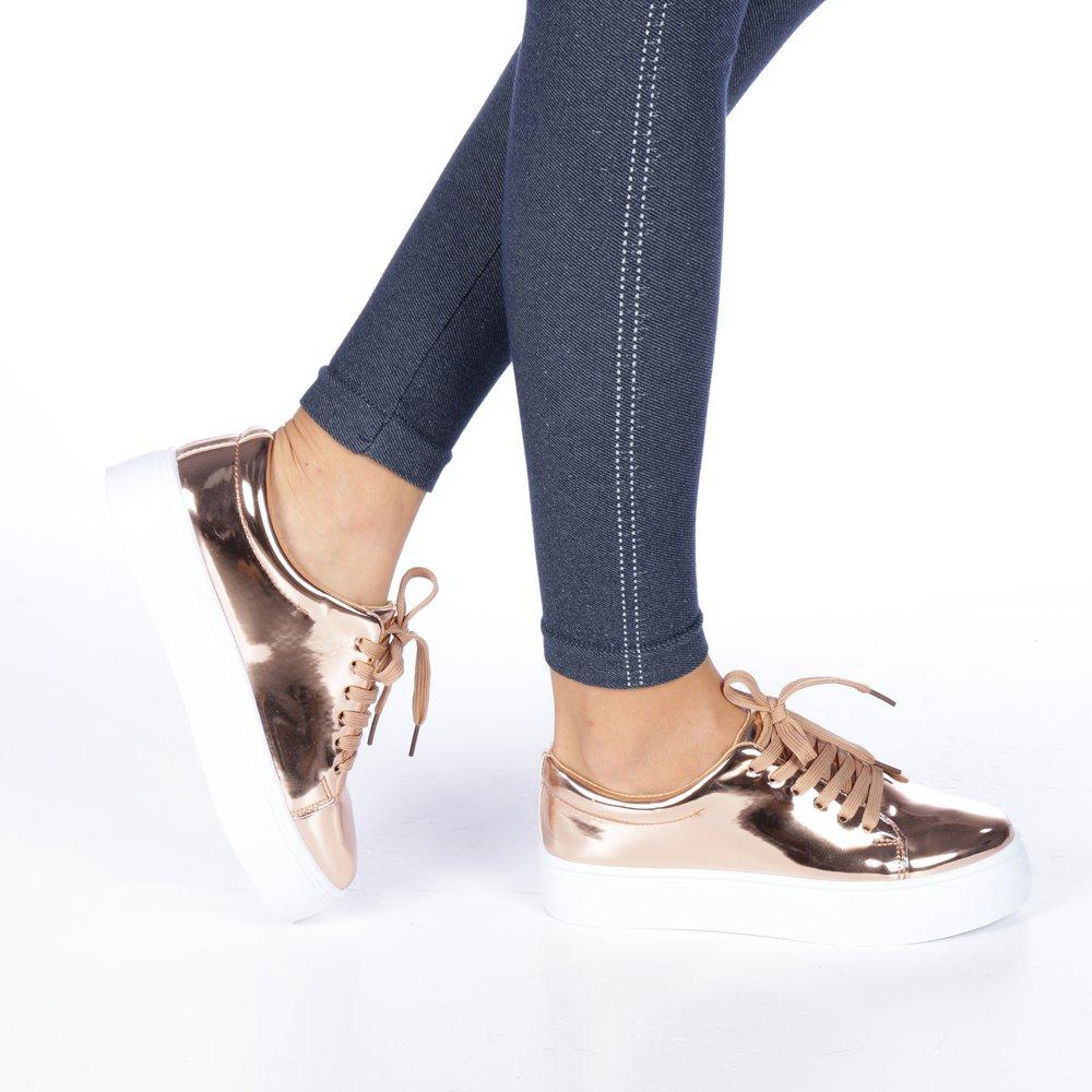 Pantofi Sport Dama Senia Sampanie