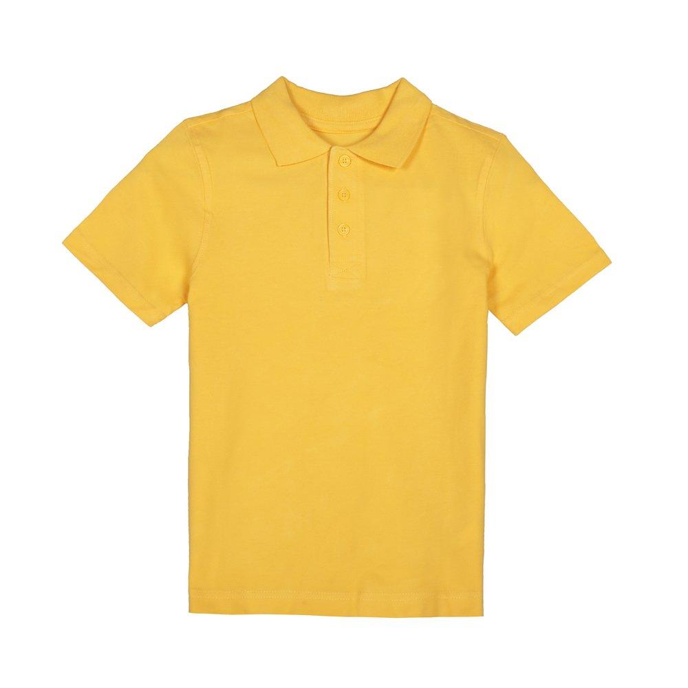 Set doua tricouri polo copii F&F galbene