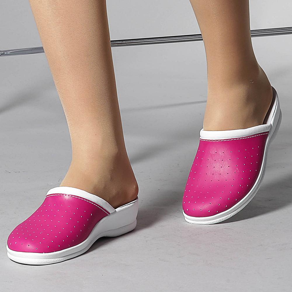 Papuci dama Neriva roz