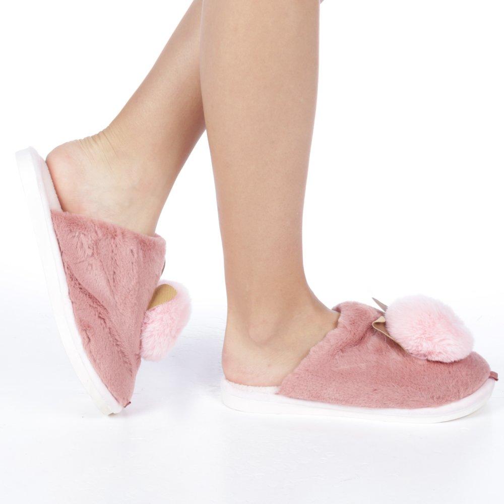 Papuci dama Amaya roz inchis