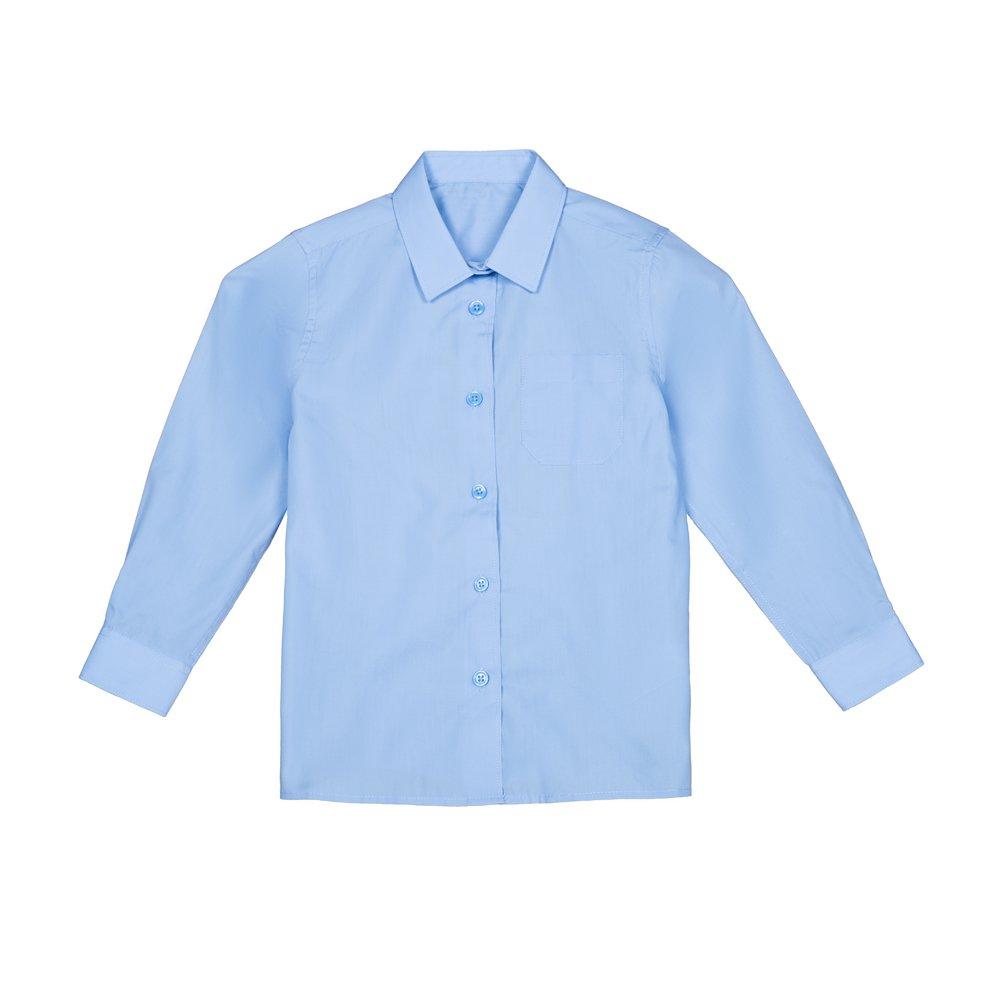 Set 2 camasi fete F&F maneca lunga albastre