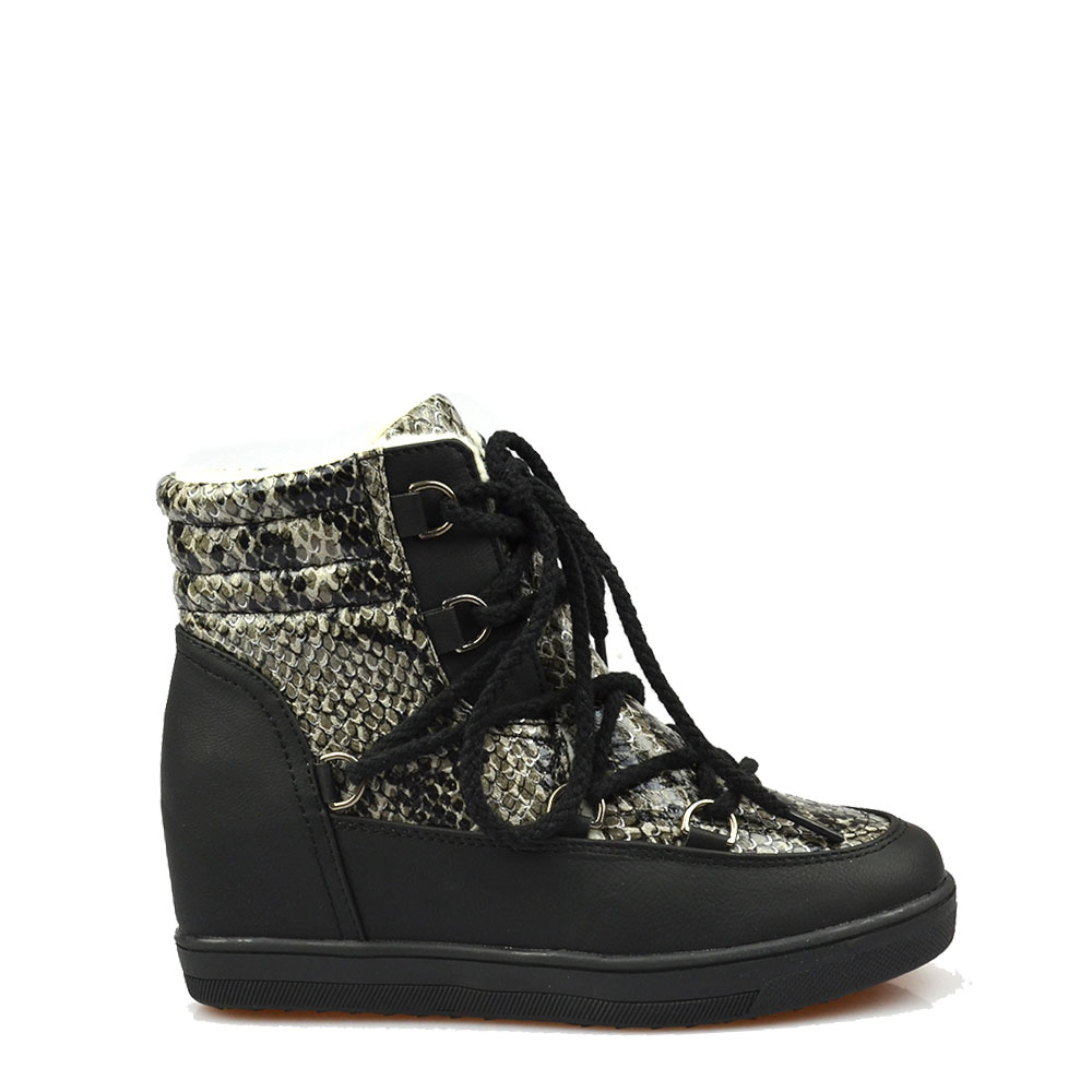 Sneakers Dama Negru Speer
