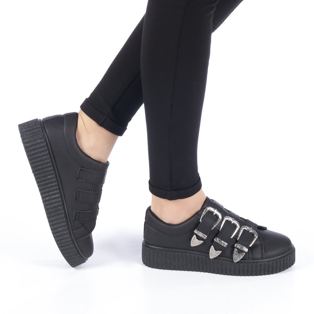 Pantofi sport dama Azucena negri - Incaltaminte dama