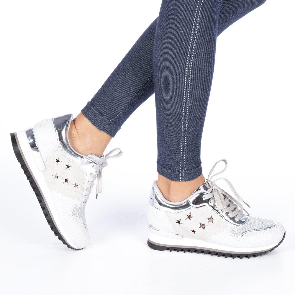 Pantofi sport dama Celia gri