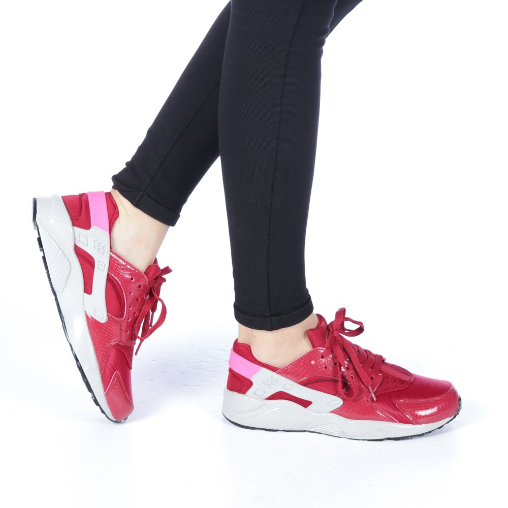 Pantofi sport dama Polina grena