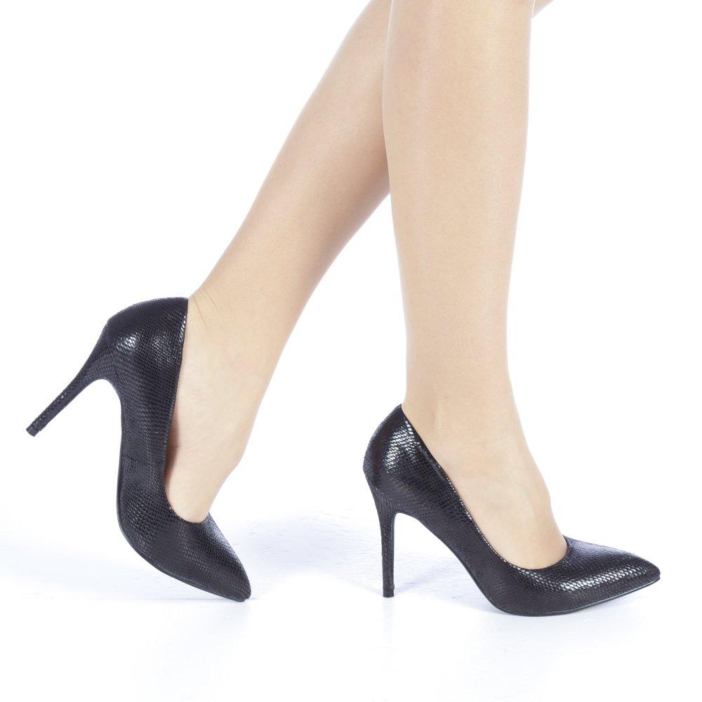 Pantofi dama Veria negri