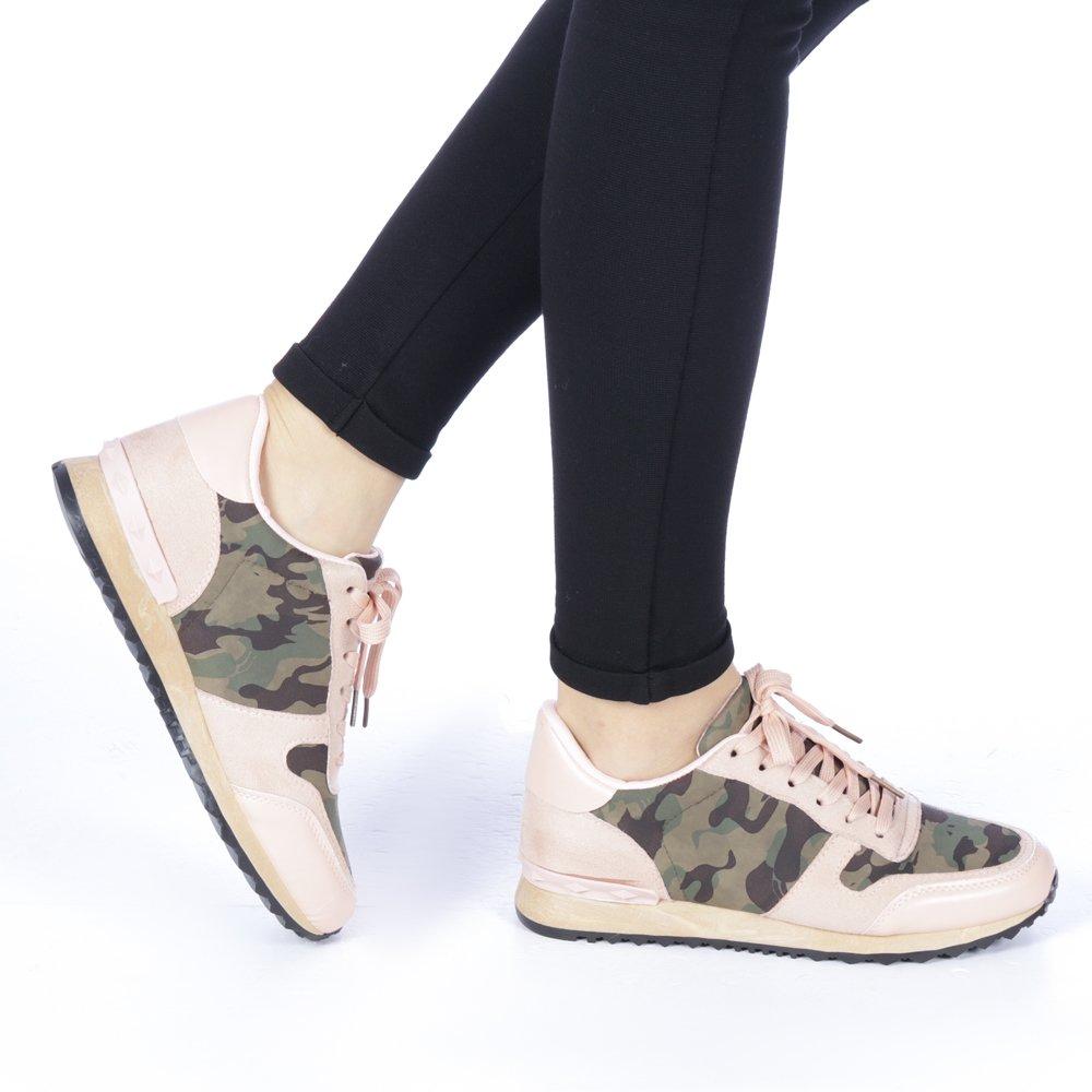 Pantofi sport dama Erina roz