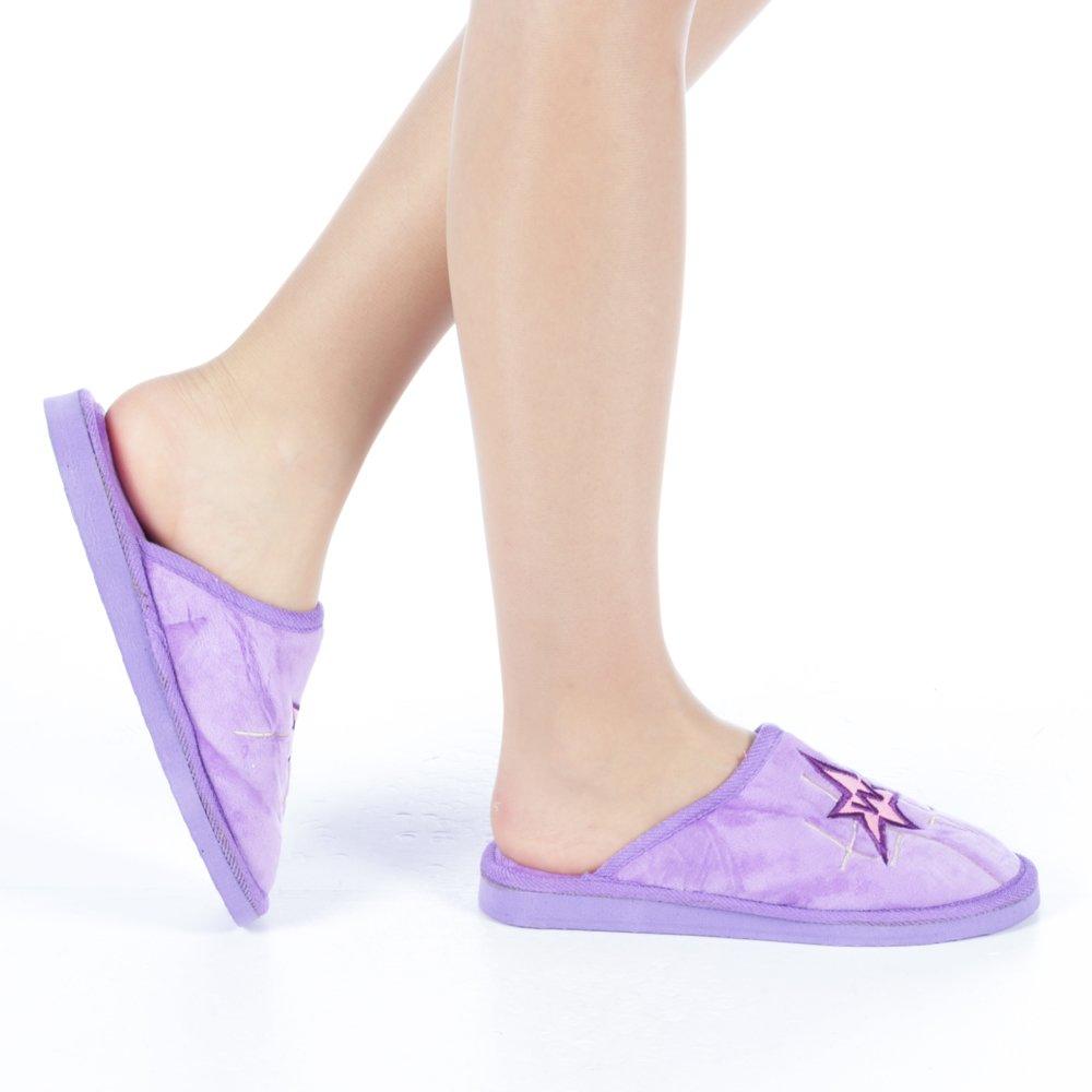 Papuci dama Ecana mov