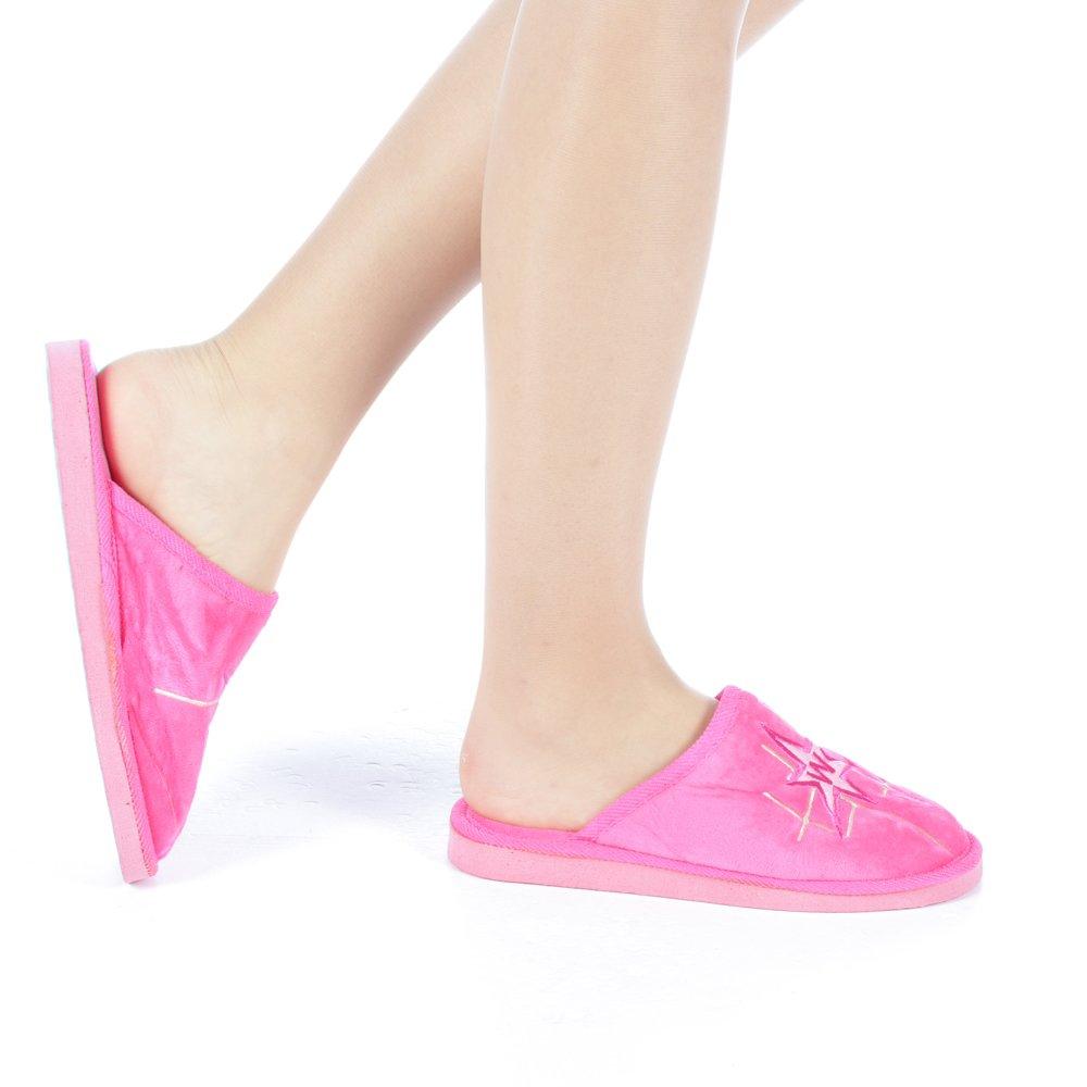 Papuci dama Ecana roz