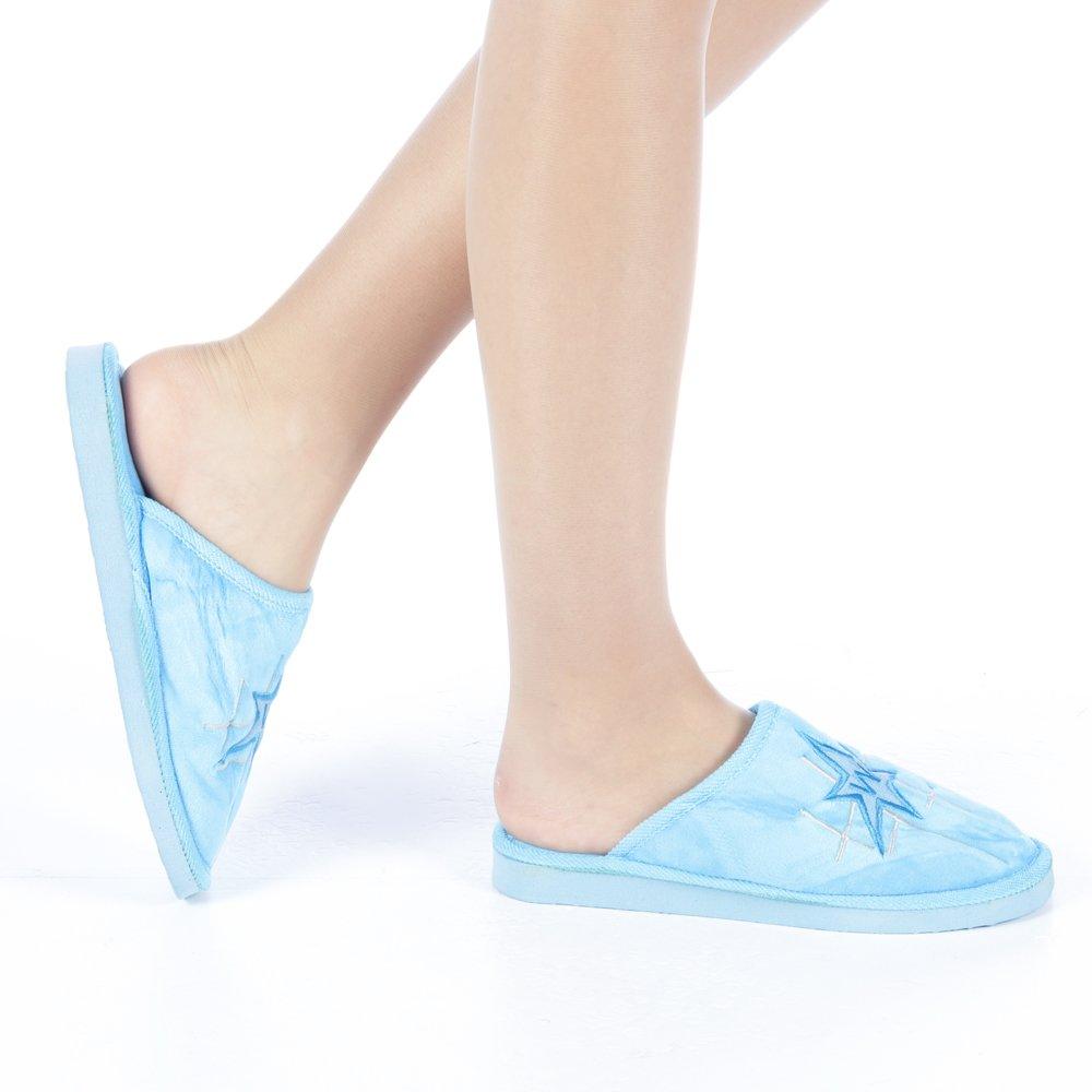 Papuci dama Ecana albastri