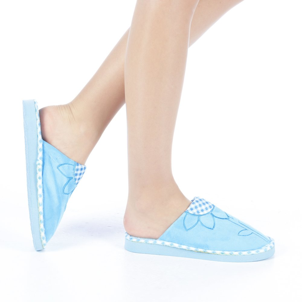 Papuci dama Girina albastri