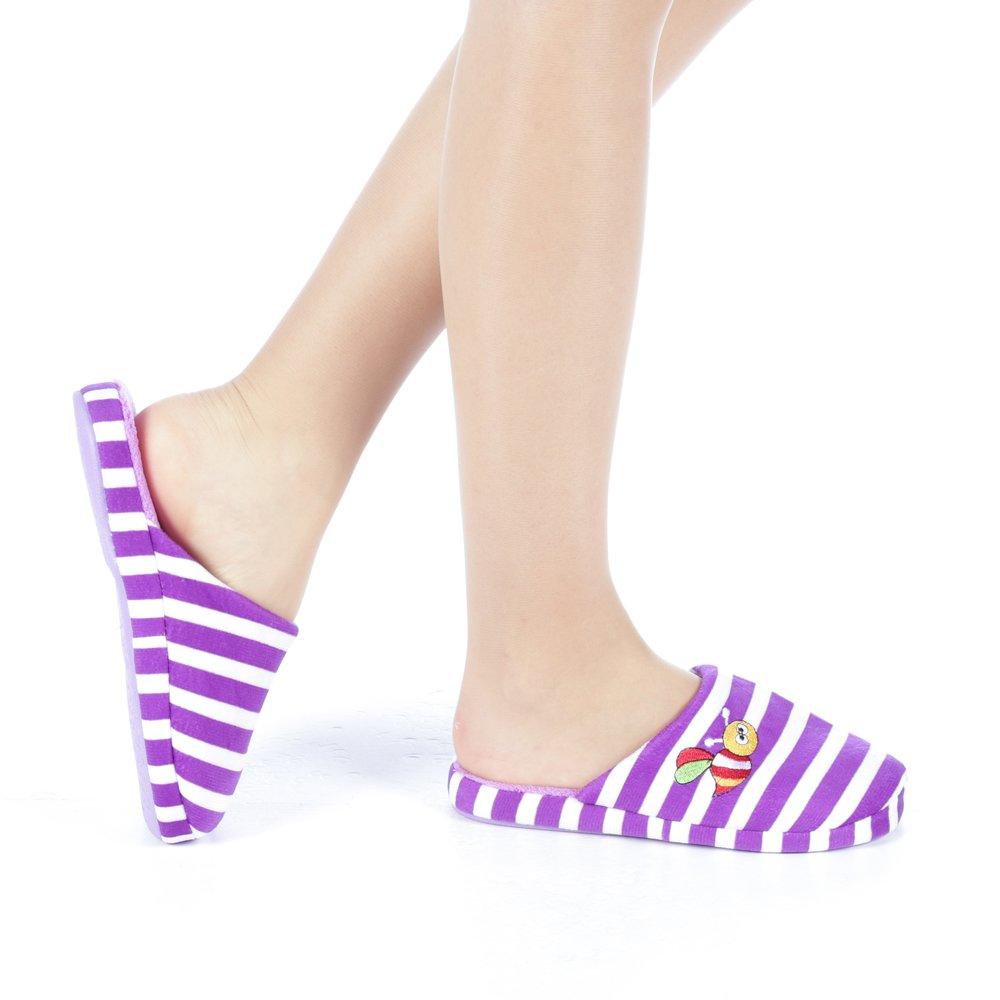 Papuci dama Satia mov