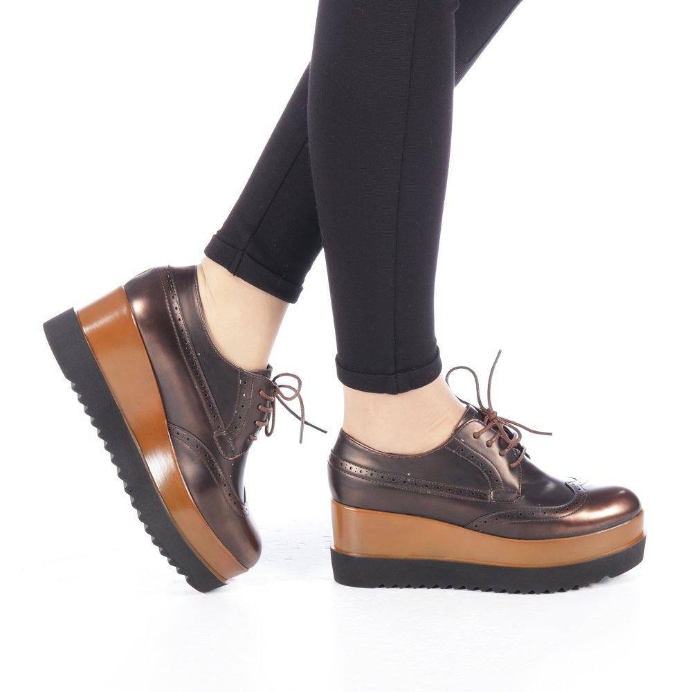 Pantofi dama Minya grena