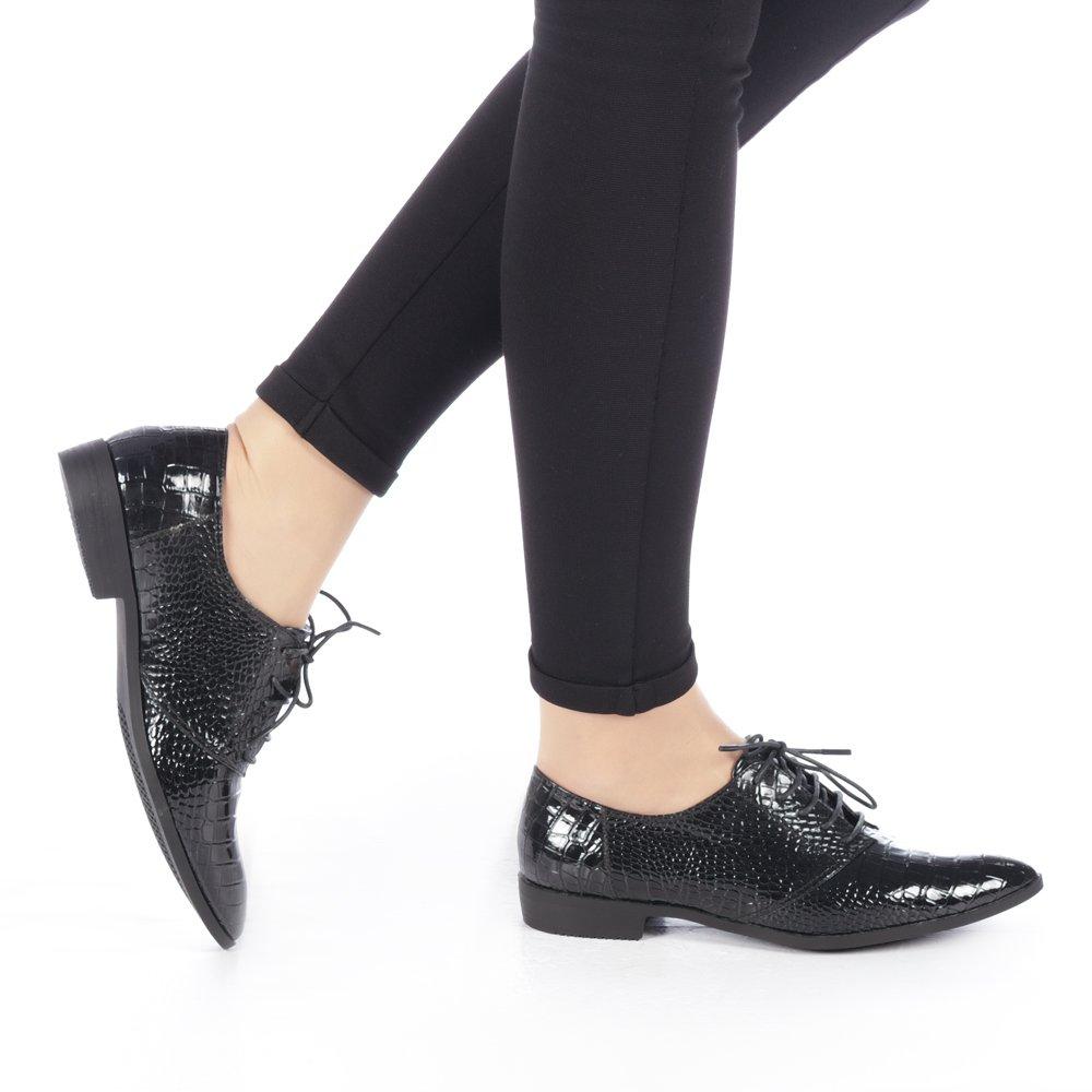 Pantofi dama Zarila negri