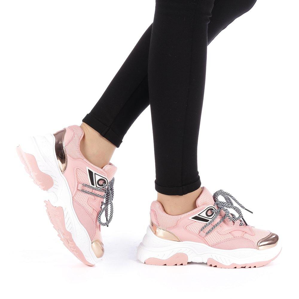 Sportowe buty damskie Cleopatra różowe